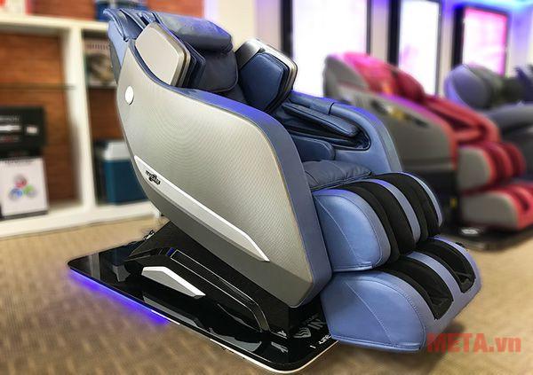 Trực diện ghế massage Max669 màu xanh dương