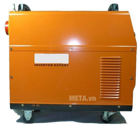 Máy hàn bán tự động Jasic MIG500 (J8110) có lớp vỏ màu cam cách nhiệt, cách điện