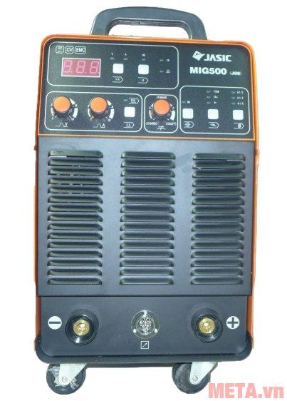 Jasic MIG500 (J8110) sử dụng công nghệ biến tần IGBT cho khả năng vận hành ổn định
