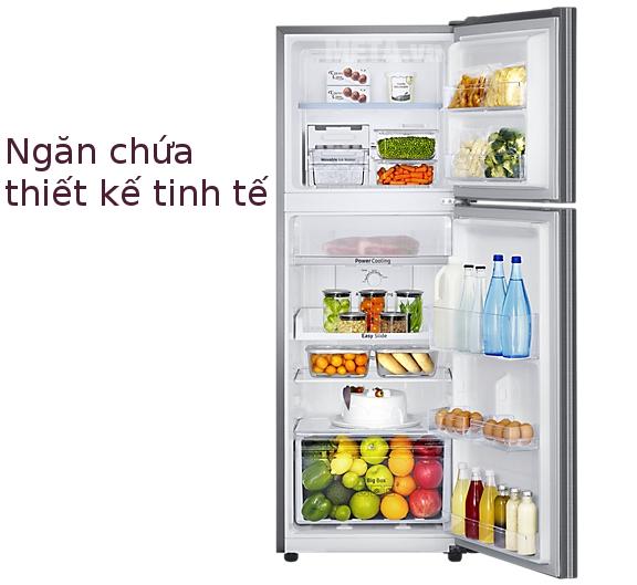 Tủ lạnh Samsung Digital Inverter 236L RT22M4033S8/SV có thể làm lạnh đồng đều
