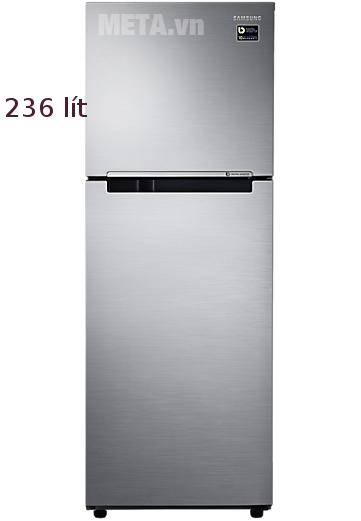 Tủ lạnh Samsung Digital Inverter 236L RT22M4033S8/SV phù hợp cho gia đình 4 - 5 người