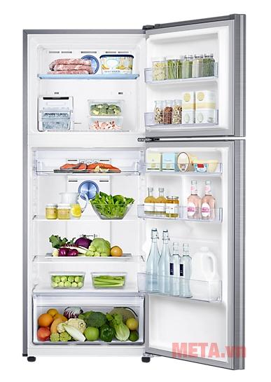 Hình ảnh thực tế tủ lạnh Samsung Digital Inverter 364L RT35K5532S8/SV