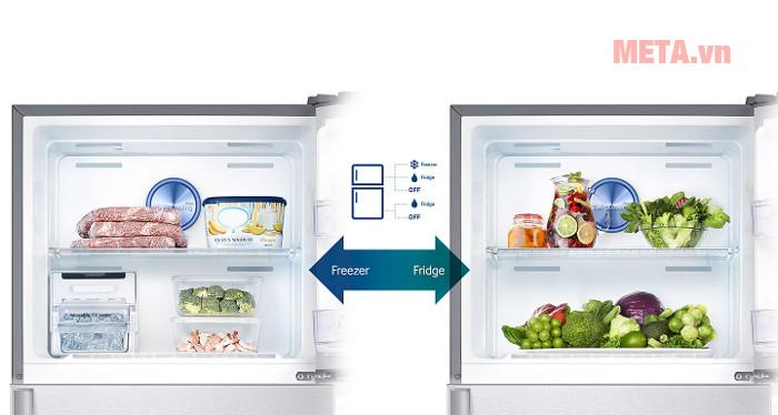 Tủ lanh Samsung Digital Inverter 364L RT35K5532S8/SV ngăn đá tiện lợi dễ dàng để cất/lấy đồ