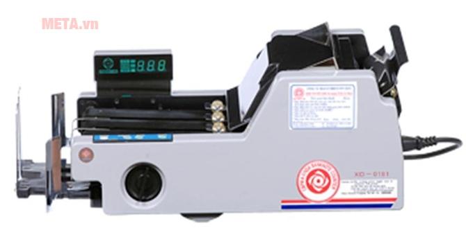 Máy đếm tiền Xinda 0186 có khả năng đếm tiền chính xác tuyệt đối