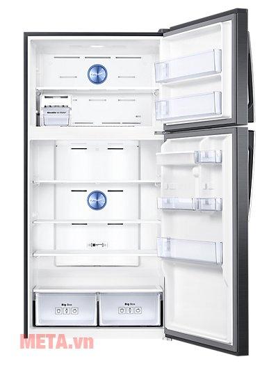 Tủ lạnh Samsung Digital Inverter 586 lít RT58K7100BS/SV có 2 cánh tiện lợi