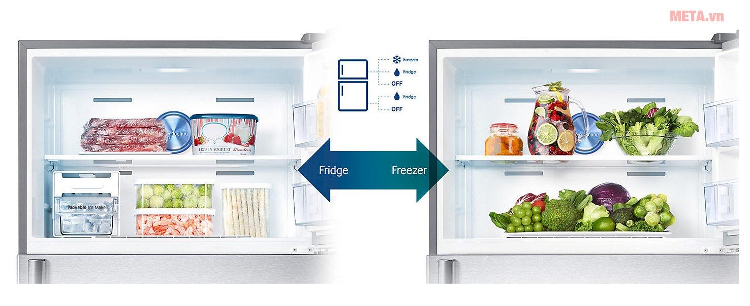 Tủ lạnh Samsung Digital Inverter 586 lít RT58K7100BS/SV làm lạnh hiệu quả