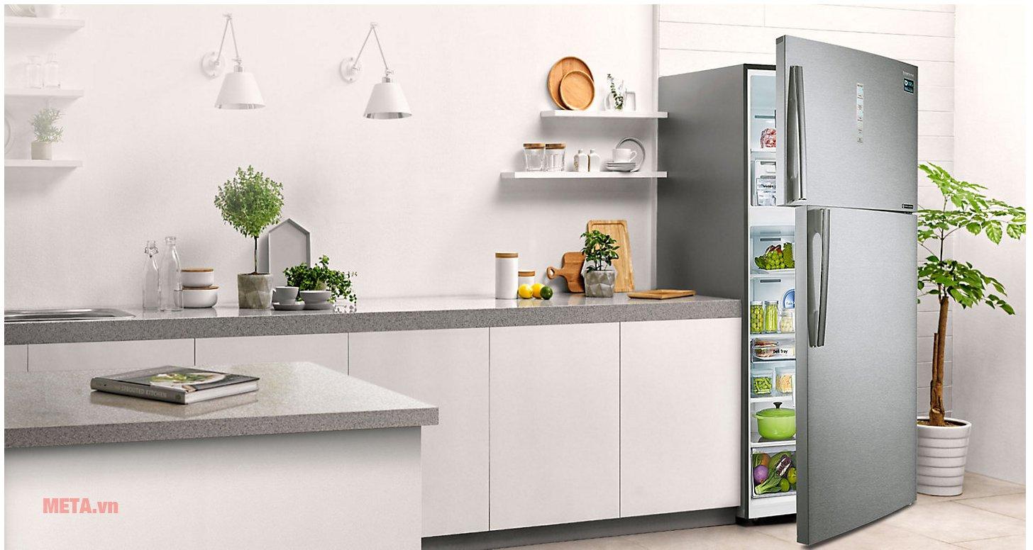 Tủ lạnh Samsung Digital Inverter 586 lít RT58K7100BS/SV có thiết kế hiện đại