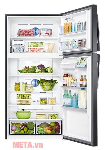 Tủ lạnh Samsung Digital Inverter 586 lít RT58K7100BS/SV giúp lưu trữ rau củ nhiều ngày