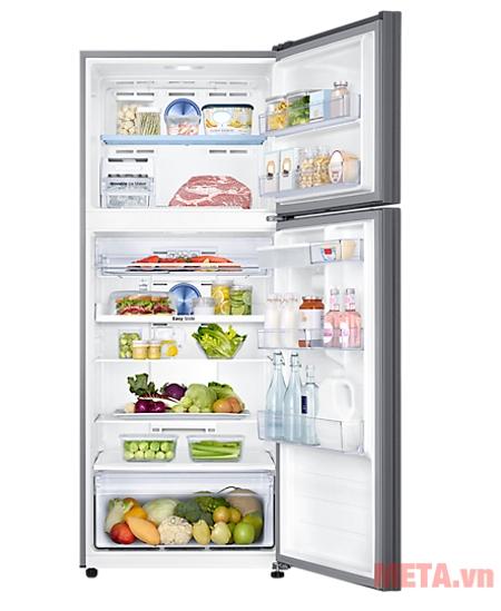 Tủ Lạnh Inverter Samsung RT43K6631SL/SV phù hợp với nhu cầu sử dụng của gia đình 7 người