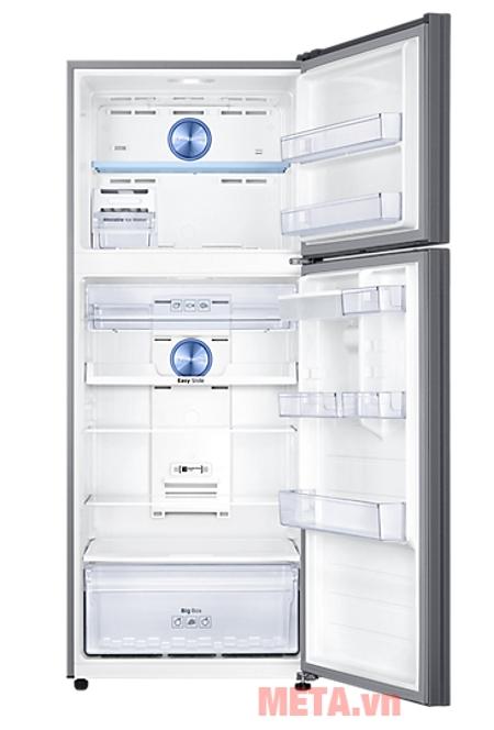 Chi tiết nội thất tủ lạnh  Inverter Samsung RT43K6631SL/SV