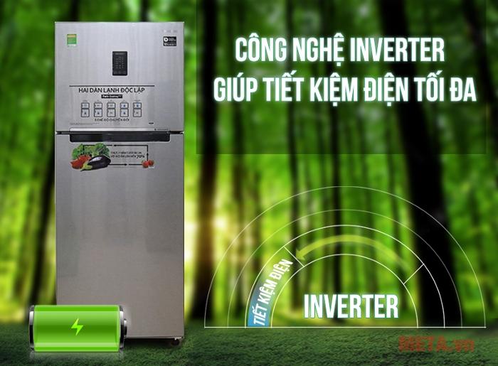 Công nghệ inverter giúp tiết kiệm điện năng tối đa