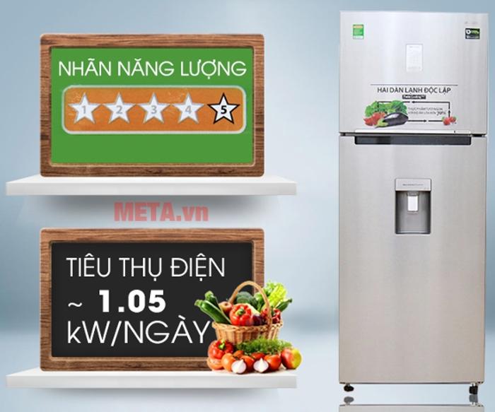 Tủ lạnh Samsung Digital Inverter 451L RT46K6836SL/SV tiết kiệm điện năng tối đa cho gia đình bạn