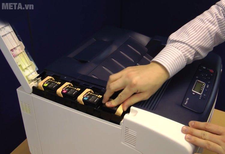 Máy in Fuji Xerox Phaser 7100N đổ mực dễ dàng