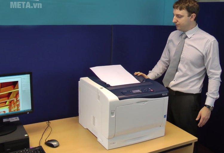 Máy in Fuji Xerox Phaser 7100N có tốc độ in đen trắng khổ A4 cực nhanh