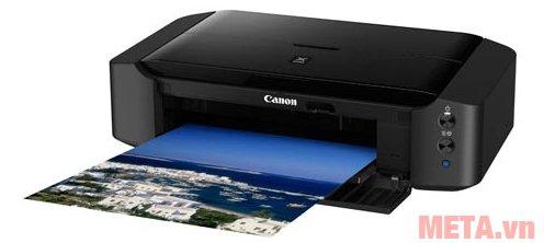 Máy in phun màu Canon PIXMA iP8770 có tốc độ in nhanh với độ sắc nét cao và màu sắc tươi sáng.