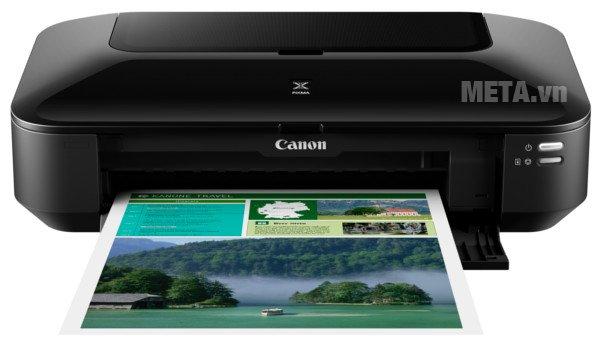 Máy in phun màu Canon PIXMA iP8770 thích hợp in khổ A4, in đĩa trực tiếp, in ảnh ấn tượng lên tới cỡ A3+