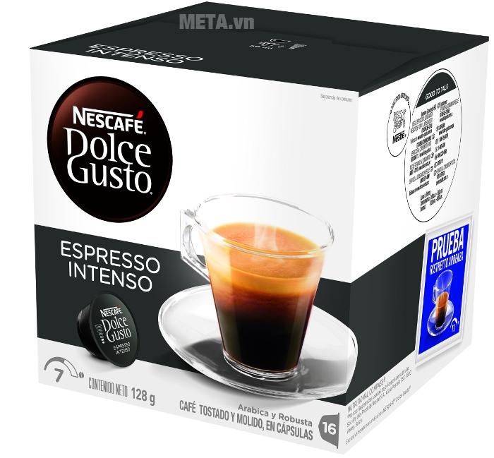 Hộp 16 viên cà phê vị rang xay 100%