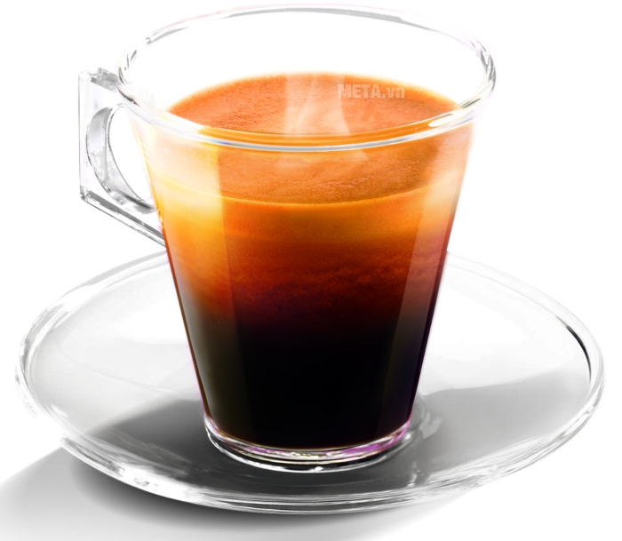 1 cốc cà phê đậm đà hương chất của 100% vị rang xay