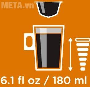 1 viên cà phê rang xay có thể pha được cốc lớn