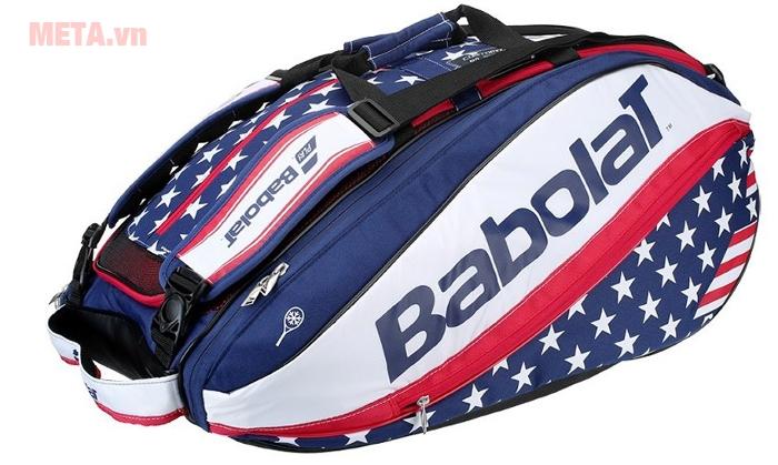 Bao vợt Tennis Babolat Pure Aero Stars & Stripes 12 (756026) mang phong cách hiện đạiBao vợt Tennis Babolat Pure Aero Stars & Stripes 12 (756026) mang phong cách hiện đại