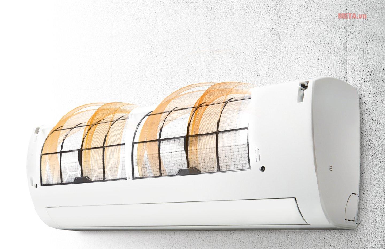 Điều hòa 1 chiều 12000BTU inverter LG V13ENR có khả năng tự động làm sạch
