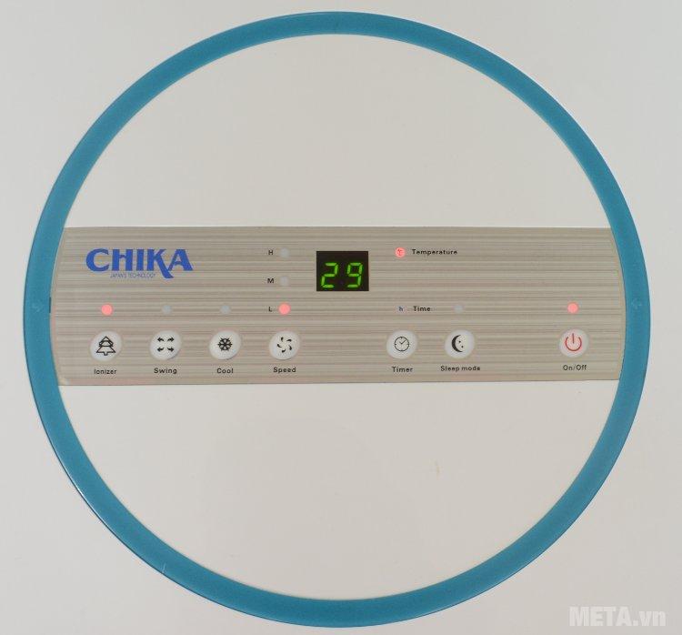Bảng điều khiển trên thân máy làm mát Chika CK16B
