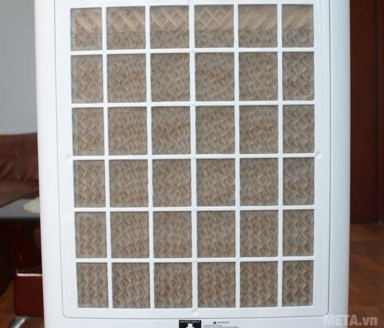 Máy làm mát Chika CK16B thiết kế tấm làm mát dạng rỗ tổ ong