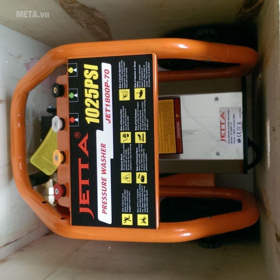 Máy rửa xe Jetta 1.8KW JET1800P-70 có chất liệu cao cấp
