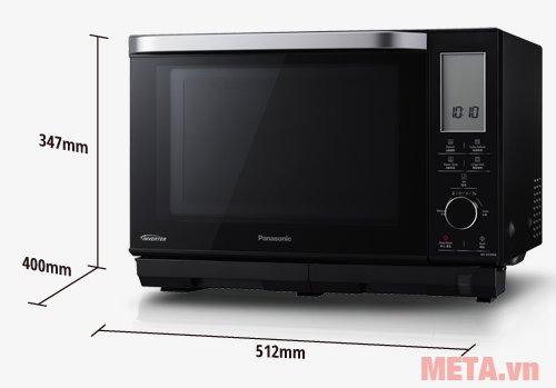 Kích thước lò vi sóng điện tử Panasonic NN-DS596BYUE