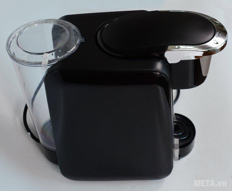 Máy pha cà phê viên nén Nesso K-cup sử dụng viên nén cafe Morning Blend hoặc Vita Blend chuyên dụng