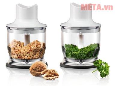 Máy xay sinh tố cầm tay Braun MQ3045 Aperitive giúp xay nhuyễn nhiều thực phẩm