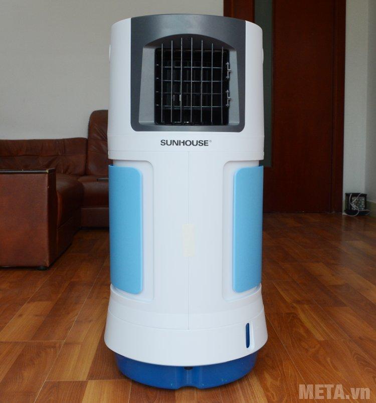Quạt điều hòa Sunhouse SHD7715 với gam màu xanh nhã nhặn