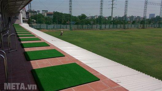Thảm tập golf Swing được sử dụng rộng rãi trong các sân tập golf tại Việt Nam