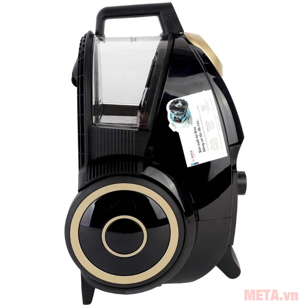 Máy hút bụi Bosch BGS4UGOGB có bánh xe di chuyển