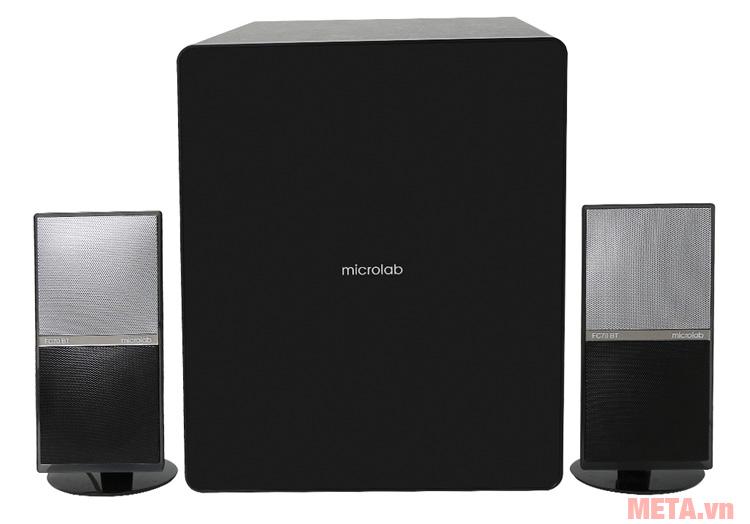 Loa bluetooth Microlab FC70BT có thiết kế hiện đại