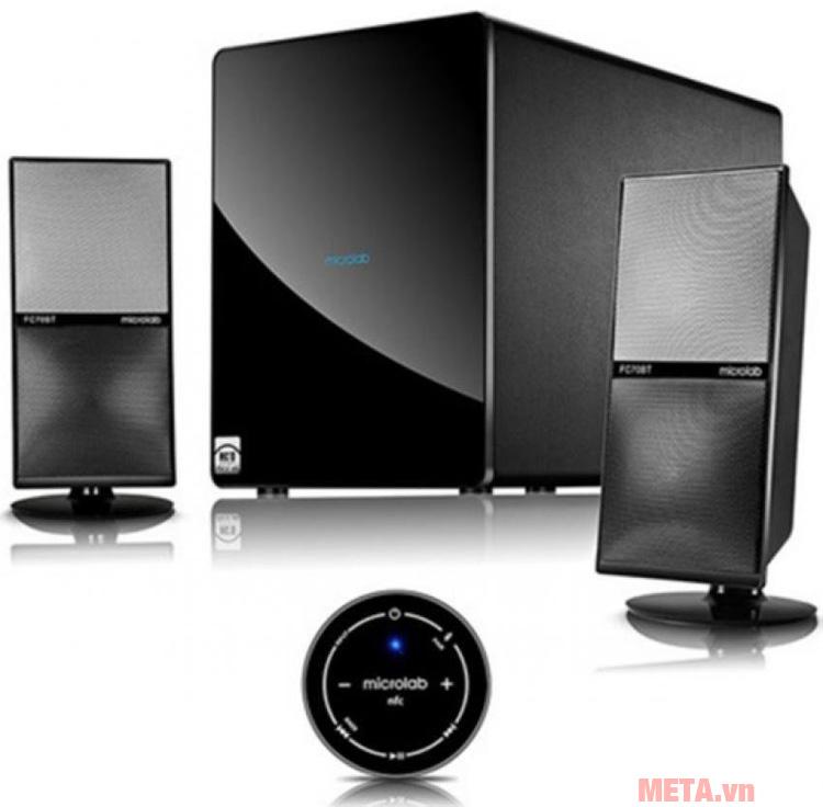 Loa vi tính Microlab FC70BT có công suất 105W