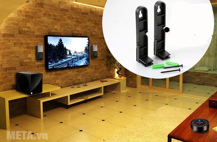 Loa  Microlab FC70BT phù hợp với không gian nội thất nhà bạn
