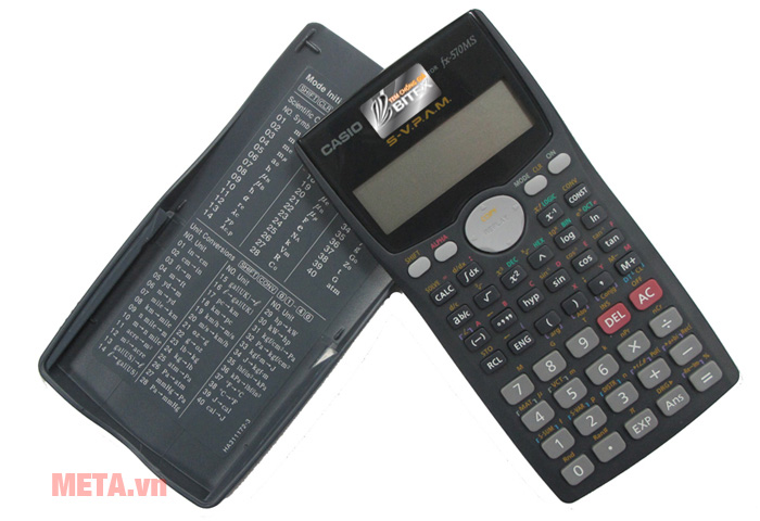 Máy tính bỏ túi Casio FX-570MS có màn hình hiển thị rõ ràng