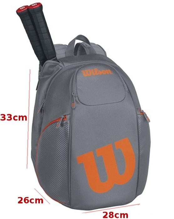Balo tennis Wilson Vancouver BackPack WRZ844796 thiết kế cân đối
