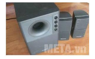 Loa vi tính Microlab X2 với thiết kế maifu bạc sang trọng