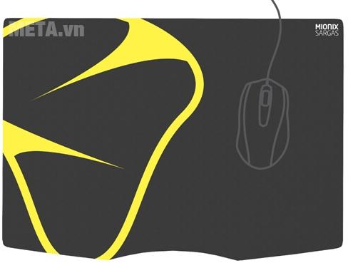 Lót chuột Mionix Sargas size L Microfiber Gaming (45cm x 32cm) thiết kế tinh tế