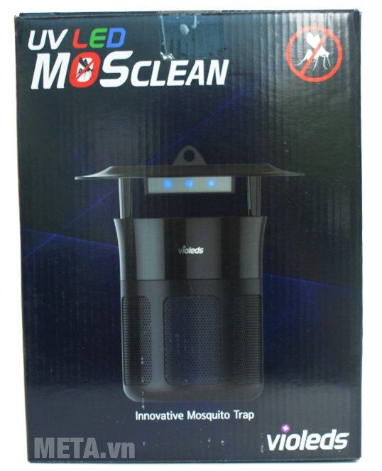 Hộp đựng máy bắt muỗi và diệt côn trùng UV Mosclean Violeds