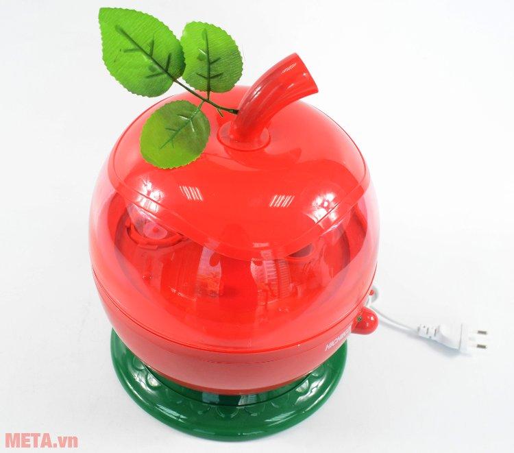 Máy tạo ẩm Hichiko AH-7107 hình quả táo đẹp mắt