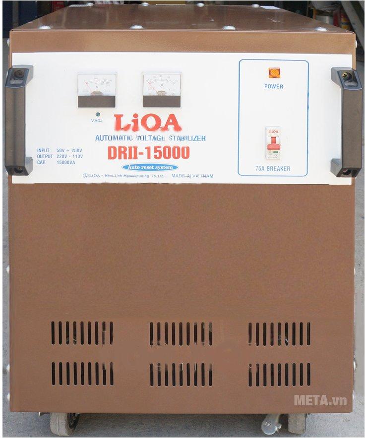 Ổn áp 1 pha Lioa 15KVA DRII 15000
