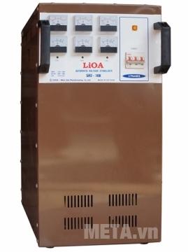 Ổn áp 3 pha Lioa 3KVA SH3 3K phù hợp sử dụng cho gia đình