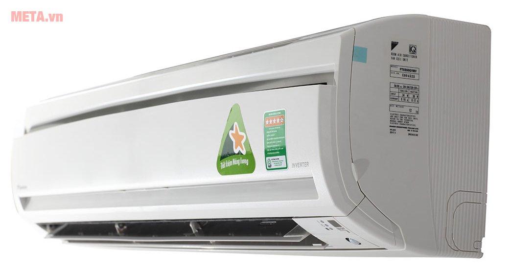 Cấu tạo điều hòa 2 chiều Daikin Inverter 18.000 BTU FTXS50GVMV/RXS50GVMV giúp làm mát hiệu quả