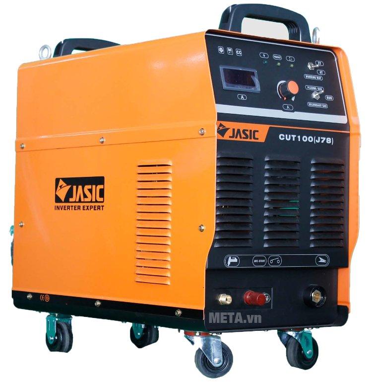 Máy cắt kim loại Plasma Jasic CUT-100 (J78) có 4 bánh xe