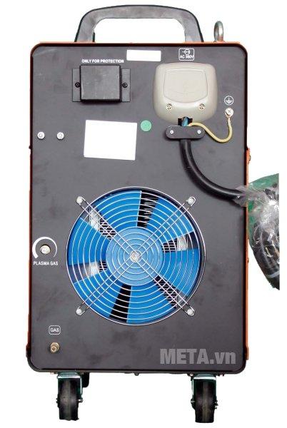 Máy cắt kim loại Plasma Jasic CUT-100 (J78) trang bị quạt tản nhiệt phía sau máy
