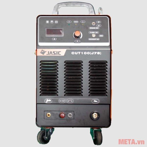 Máy cắt kim loại Plasma Jasic CUT-100 (J78) có phạm vi dòng cắt 20A - 100A
