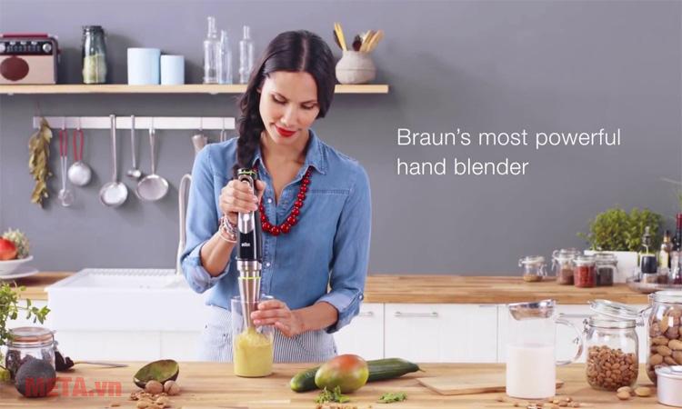 Máy xay cầm tay Braun MQ9045 Aperitive giúp công việc nội trợ dễ dàng hơn